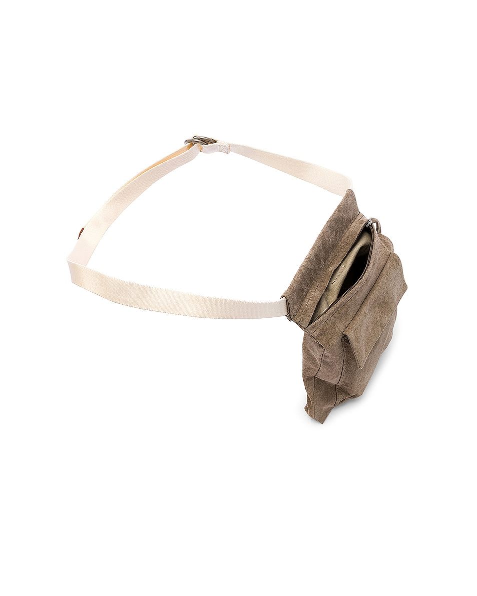 Image 5 of Hender Scheme Waist Belt Bag in Beige