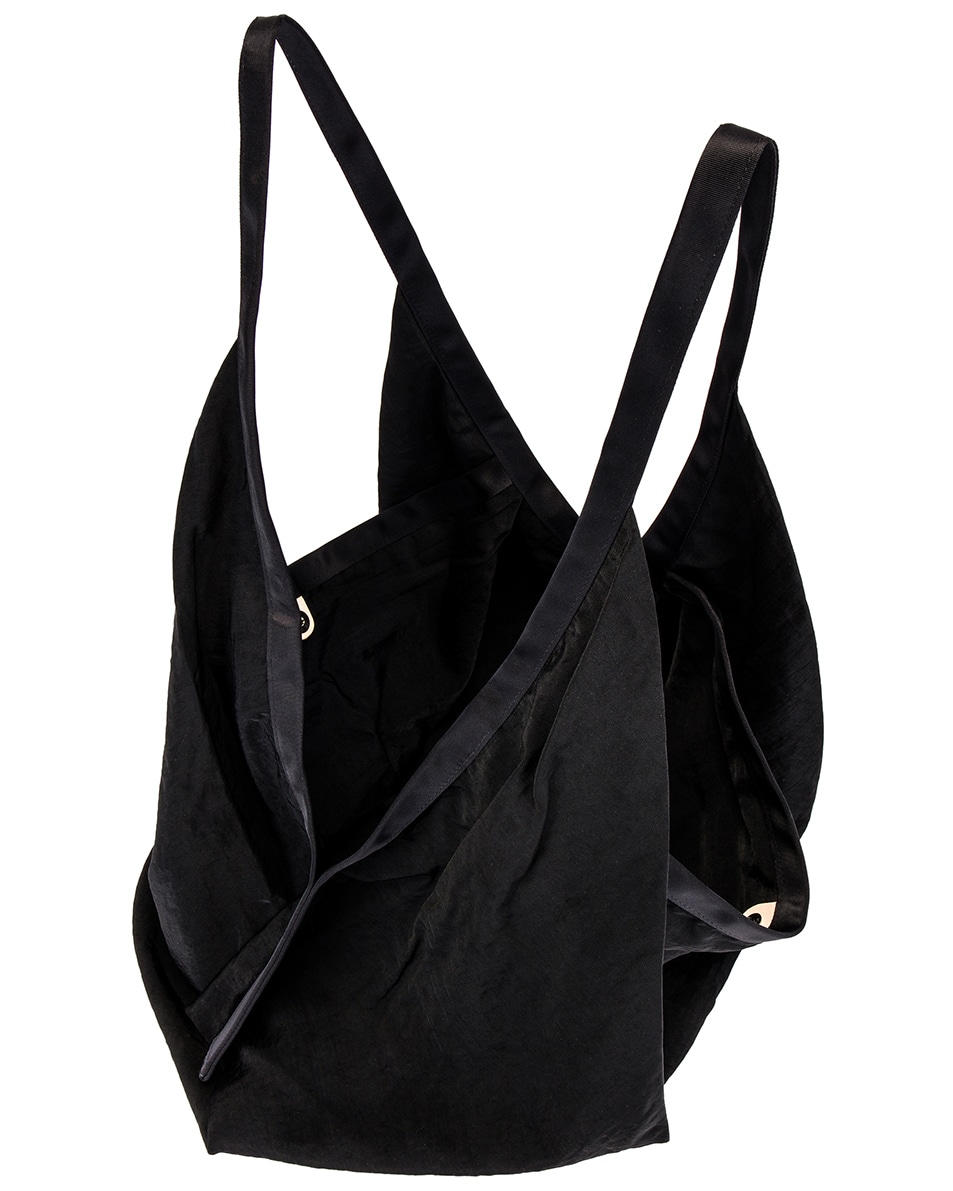 Image 4 of Hender Scheme Big Origami Bag in Black