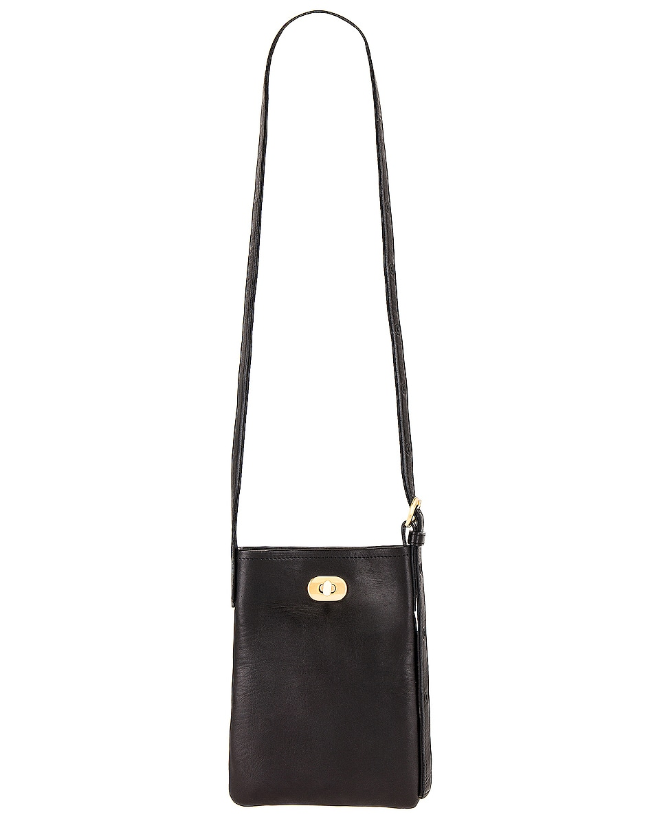 Image 1 of Hender Scheme Twist Buckle Bag XS in Black