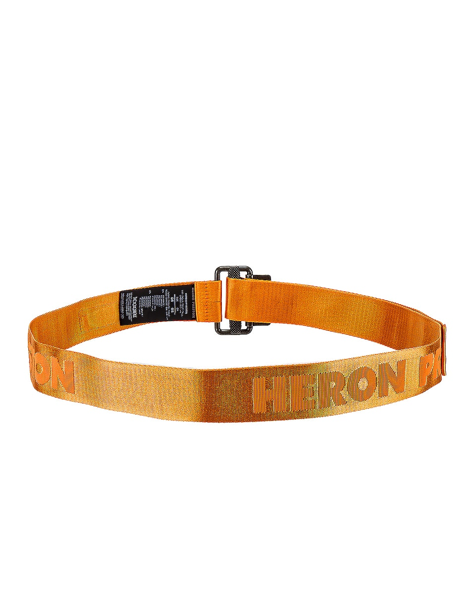 Image 3 of Heron Preston KK Tape Belt in Orange