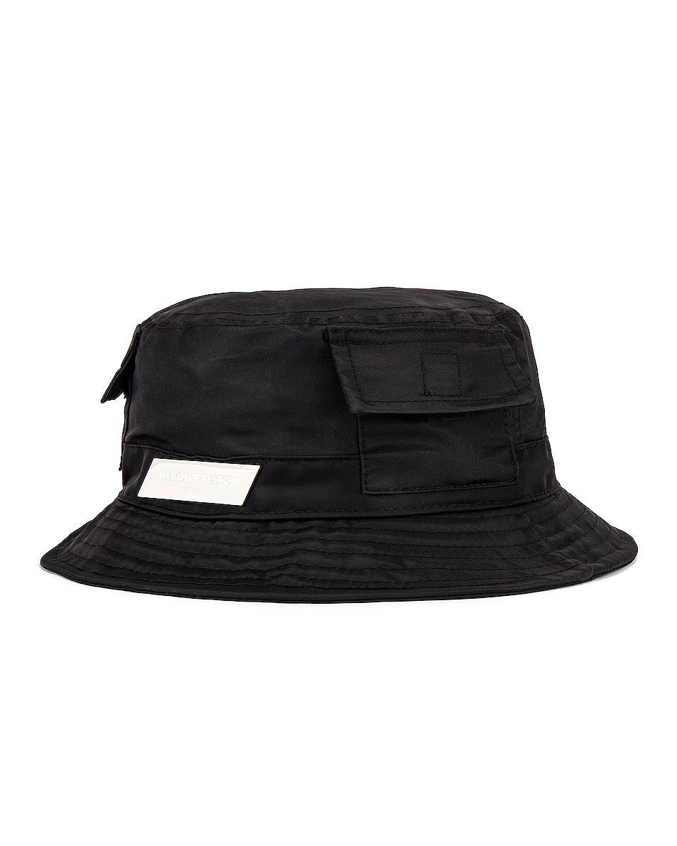 Image 2 of Heron Preston Bucket Hat in Black