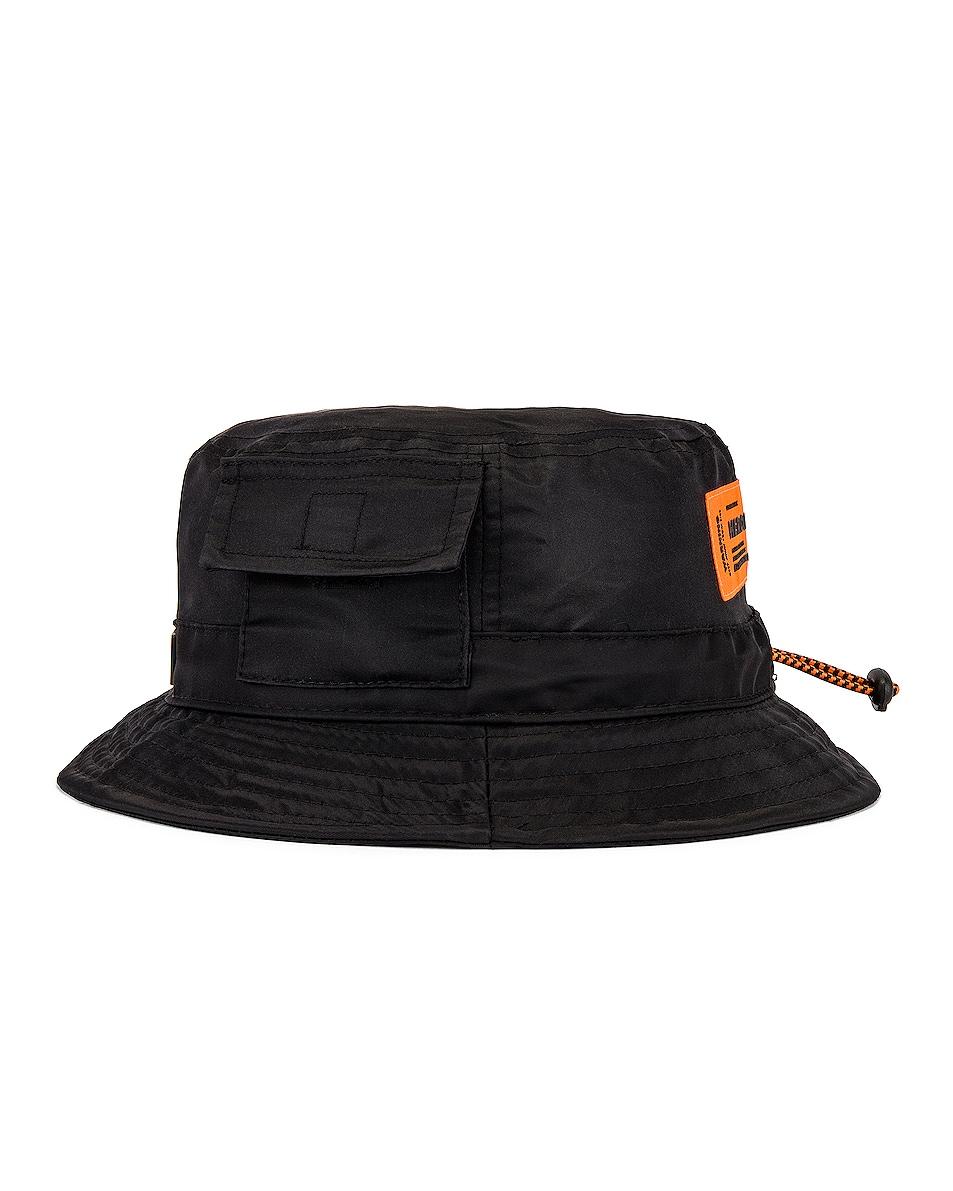Image 3 of Heron Preston Bucket Hat in Black