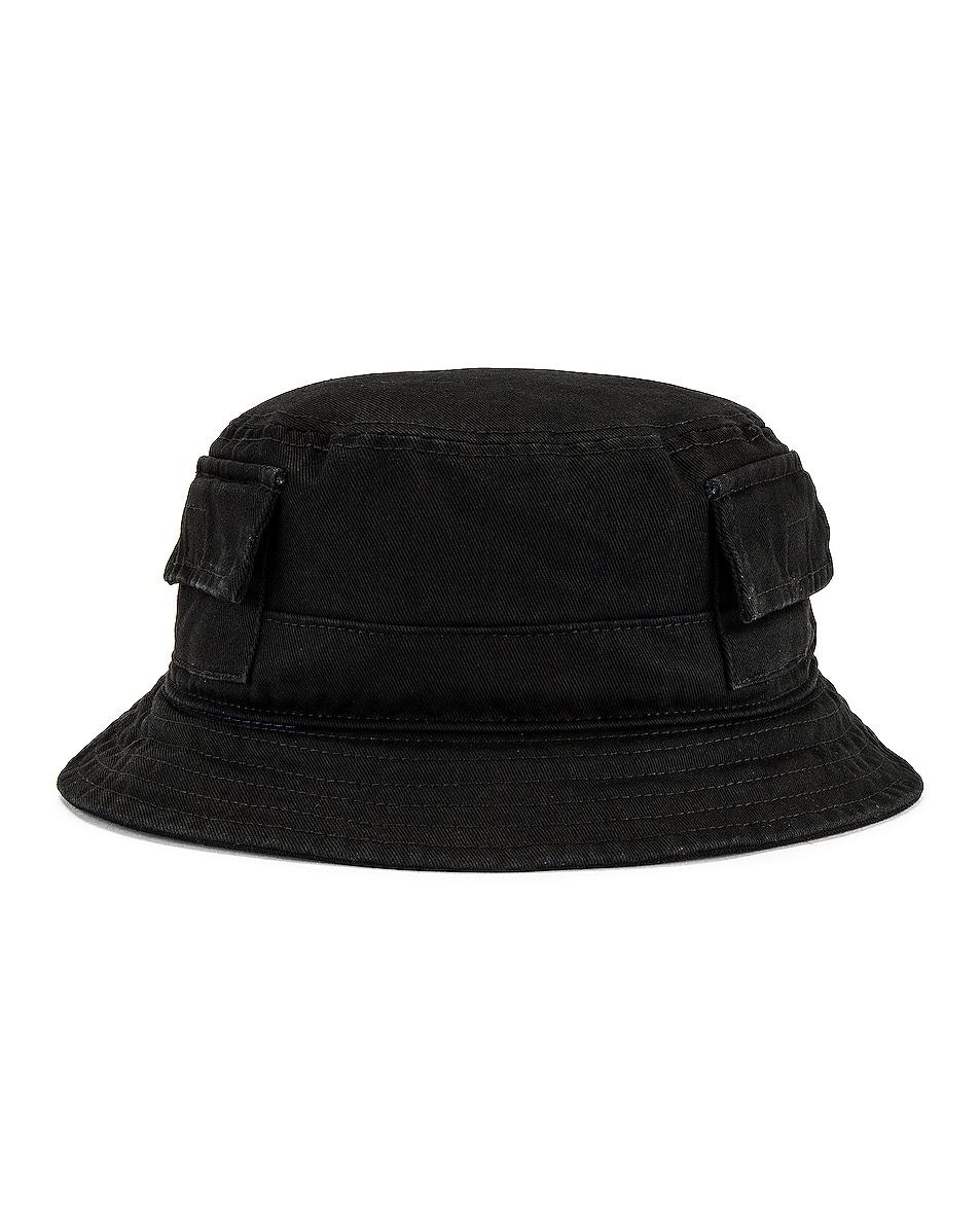 Image 1 of Heron Preston Bucket Hat in Black