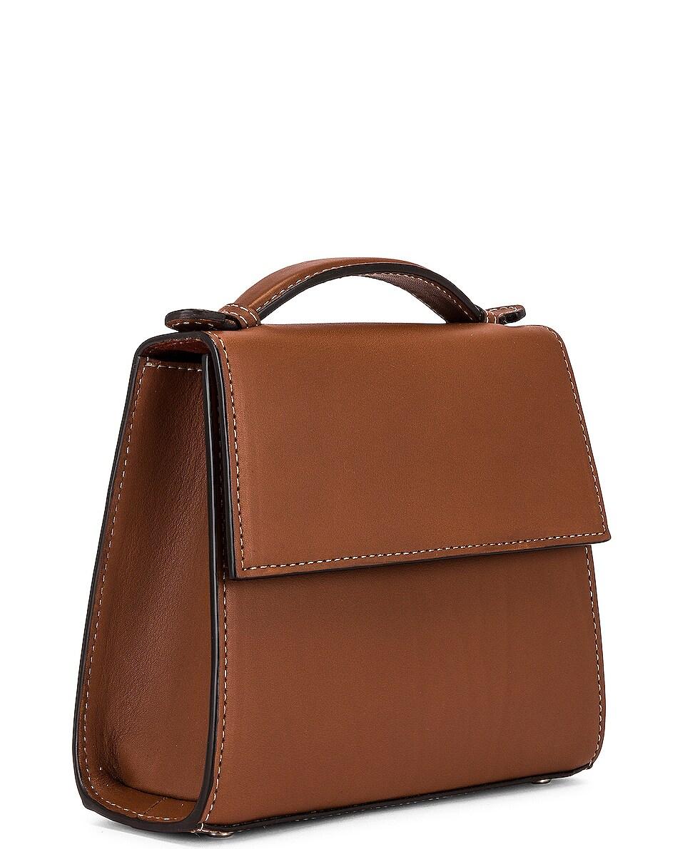 Image 4 of Hunting Season Small Top Handle Bag in Cognac