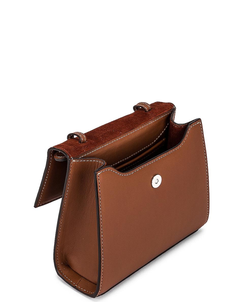 Image 5 of Hunting Season Small Top Handle Bag in Cognac