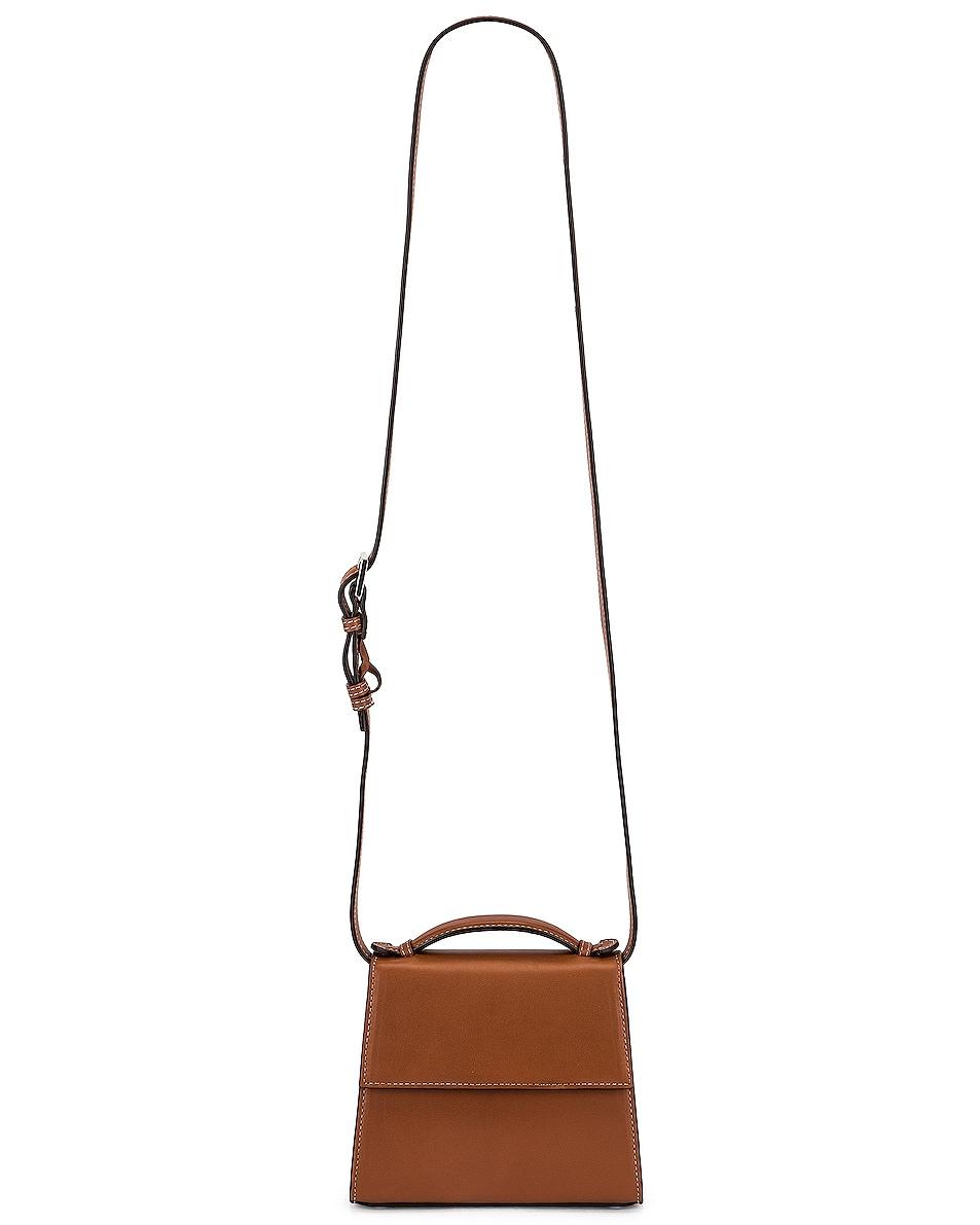 Image 6 of Hunting Season Small Top Handle Bag in Cognac