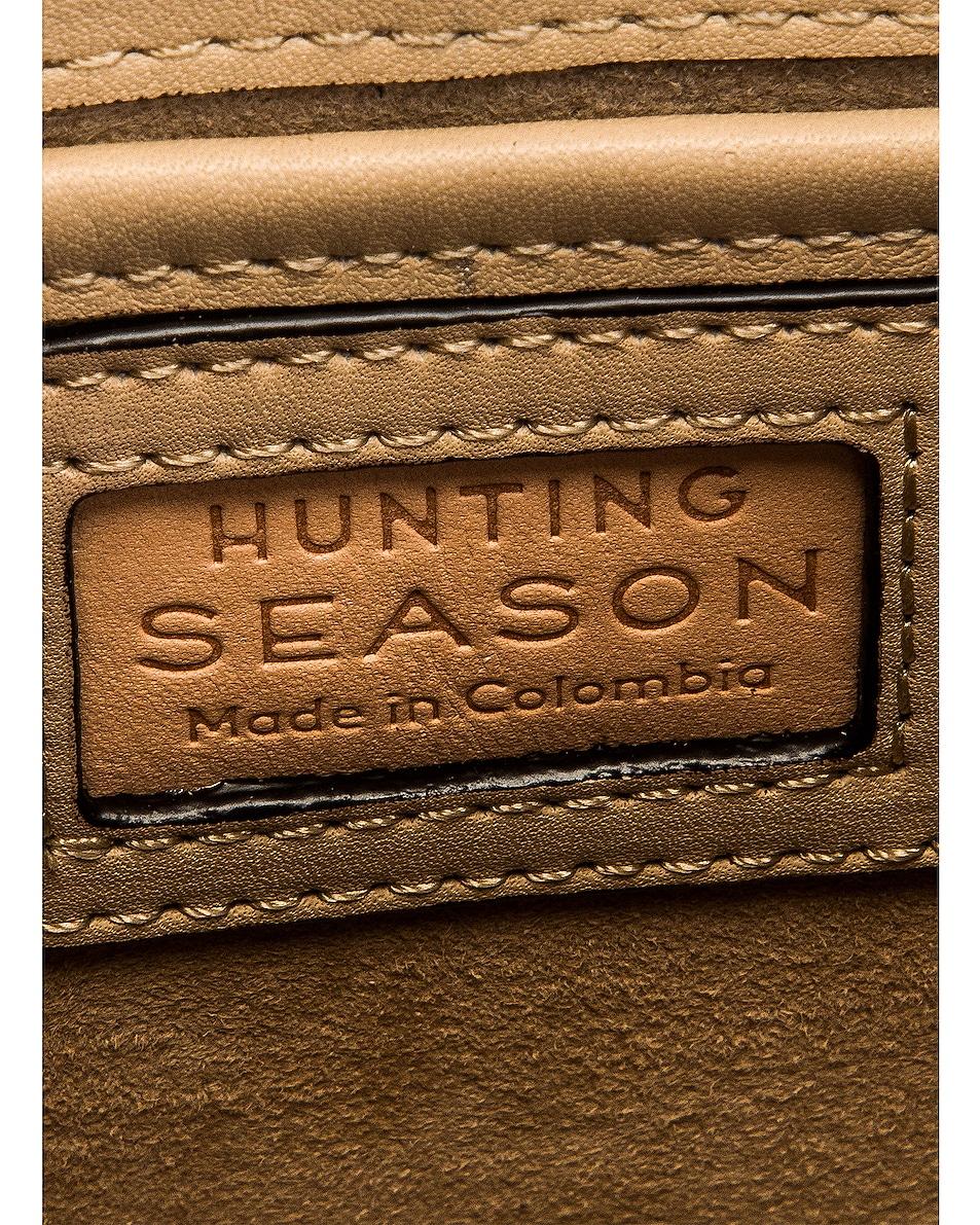 Image 7 of Hunting Season Small Top Handle Bag in Natural & Beige