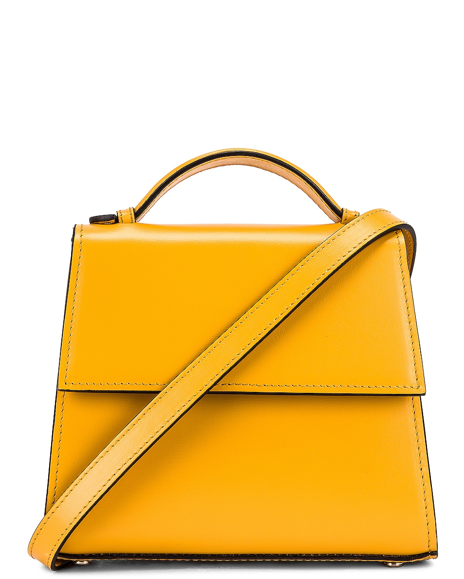 Image 1 of Hunting Season Small Top Handle Bag in Yellow