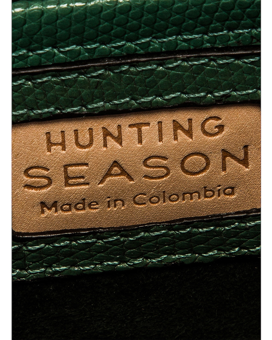 Image 7 of Hunting Season Small Top Handle Bag in Cypress