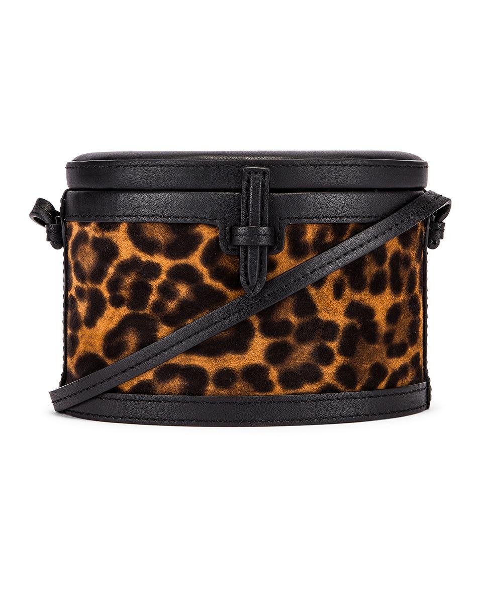 Image 1 of Hunting Season Mini Trunk Bag in Leopard