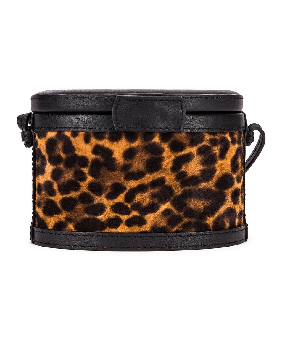 Image 3 of Hunting Season Mini Trunk Bag in Leopard