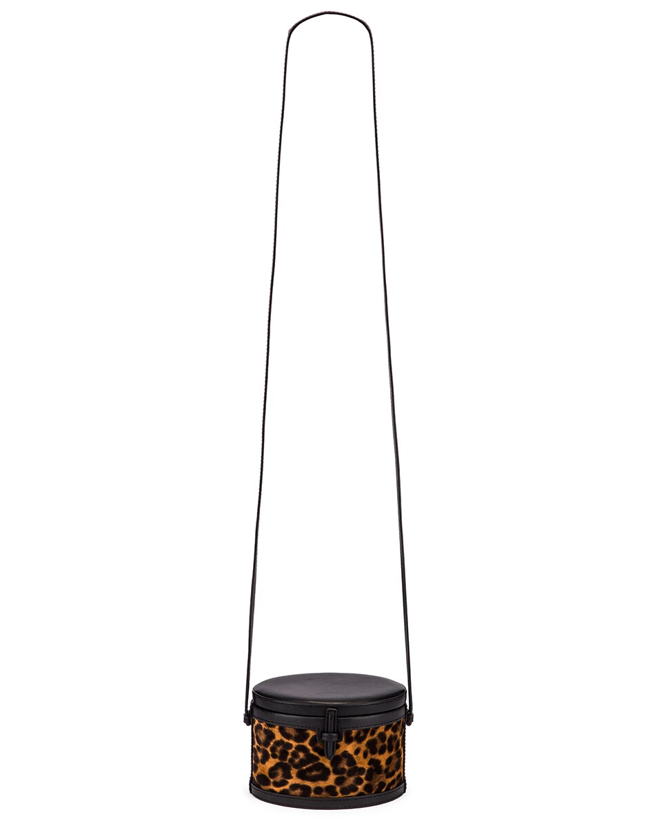Image 6 of Hunting Season Mini Trunk Bag in Leopard