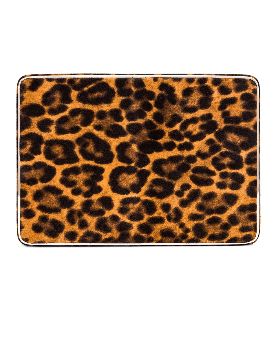 Image 1 of Hunting Season Square Compact Clutch in Leopard