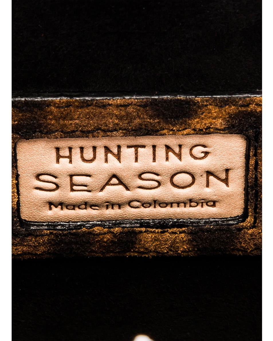 Image 6 of Hunting Season Square Compact Clutch in Leopard