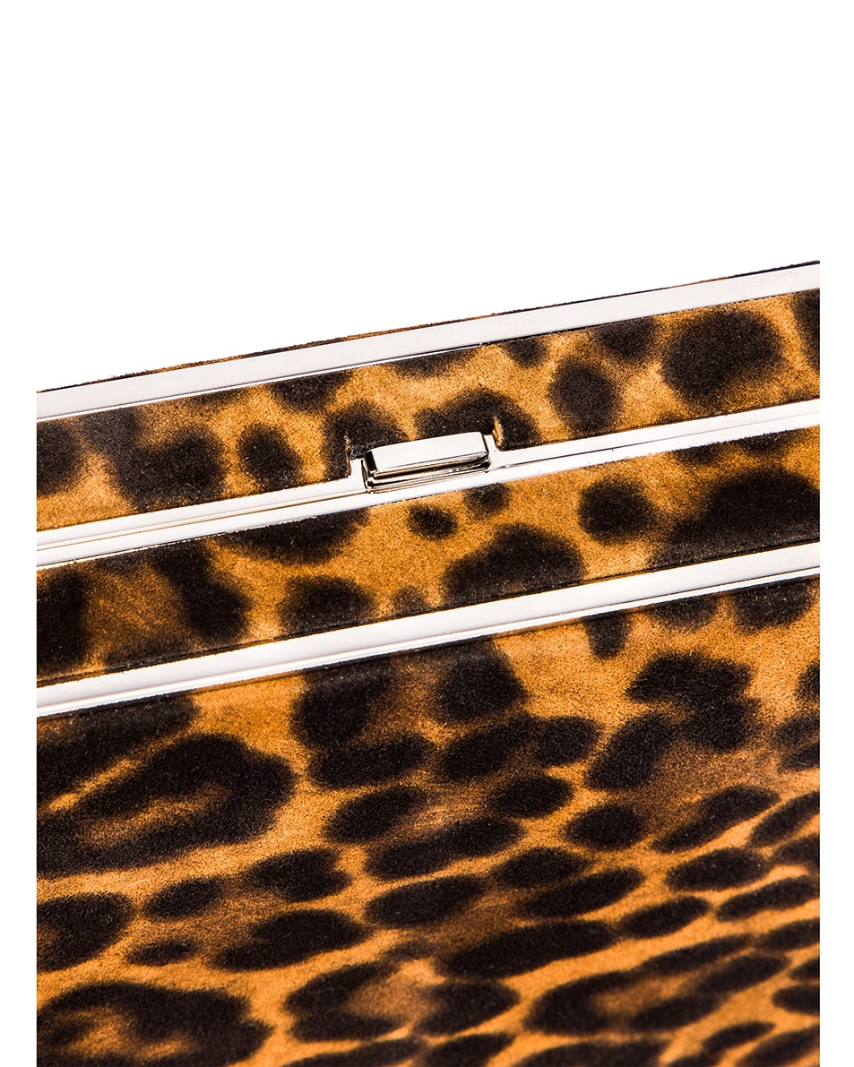 Image 7 of Hunting Season Square Compact Clutch in Leopard
