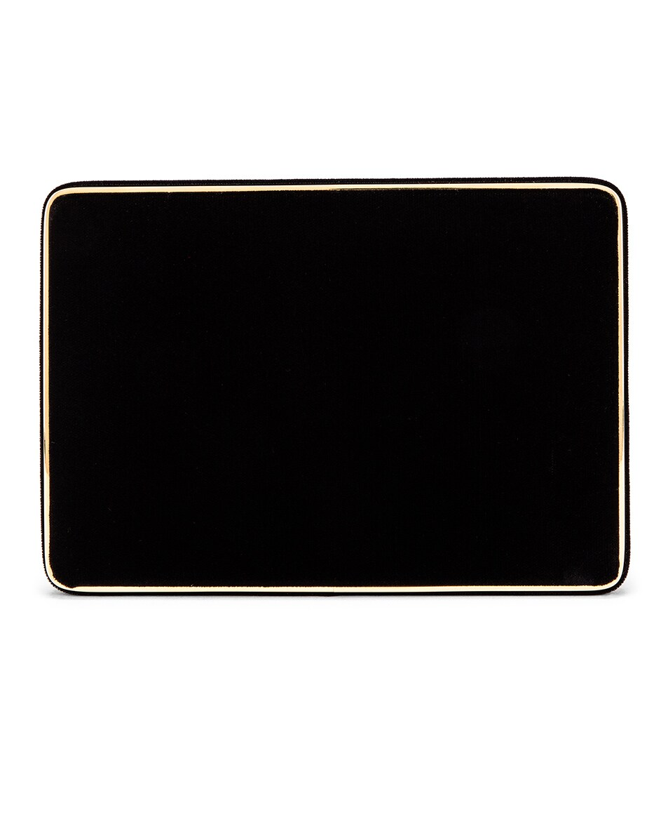Image 3 of Hunting Season Square Compact Clutch in Black