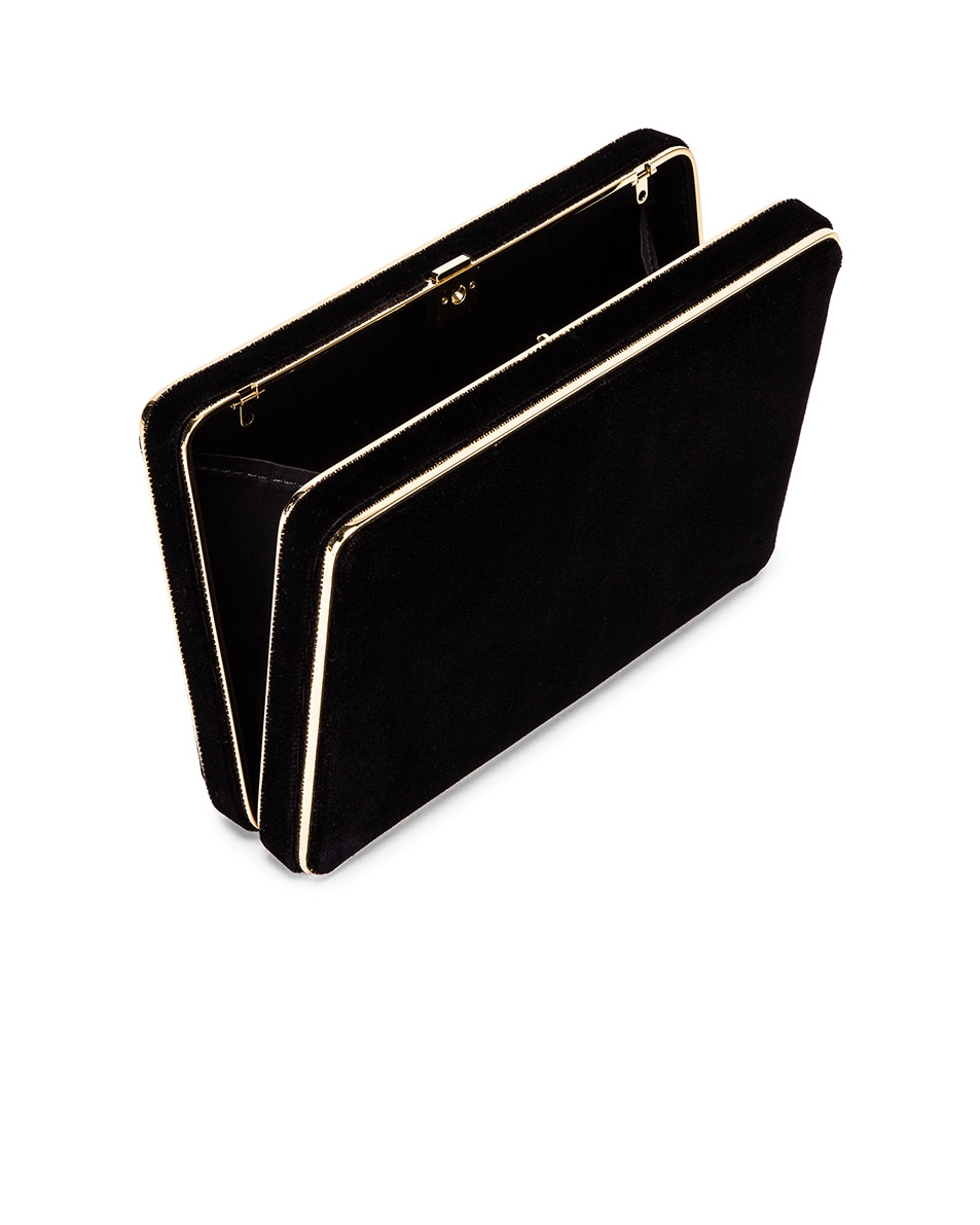 Image 5 of Hunting Season Square Compact Clutch in Black