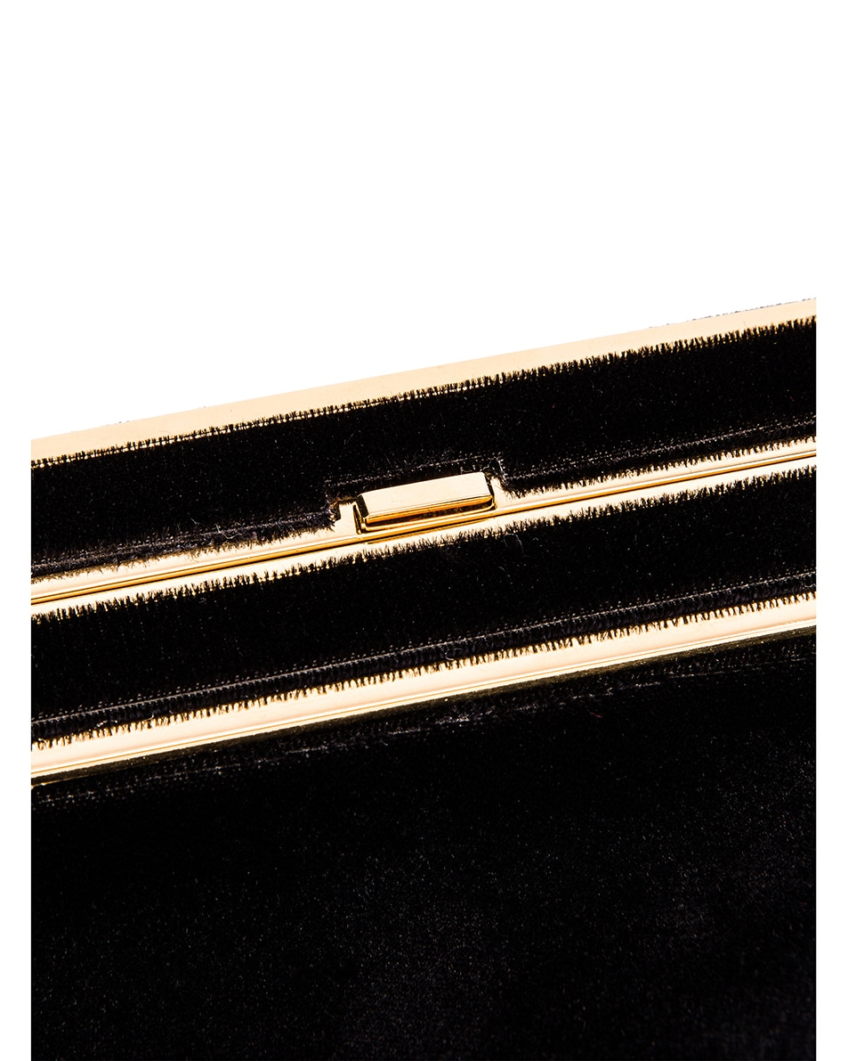 Image 7 of Hunting Season Square Compact Clutch in Black