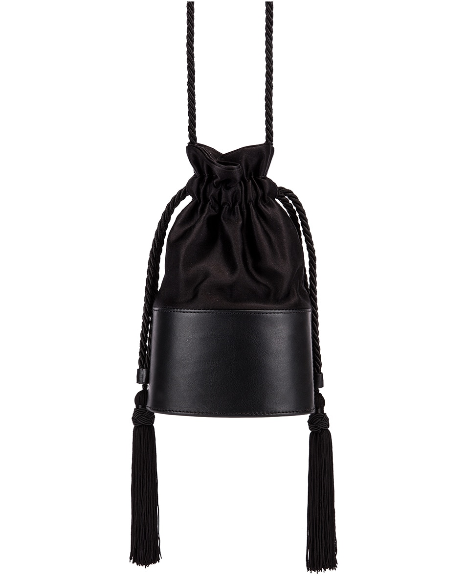 Image 1 of Hunting Season Small Lola Pouch Bag in Black