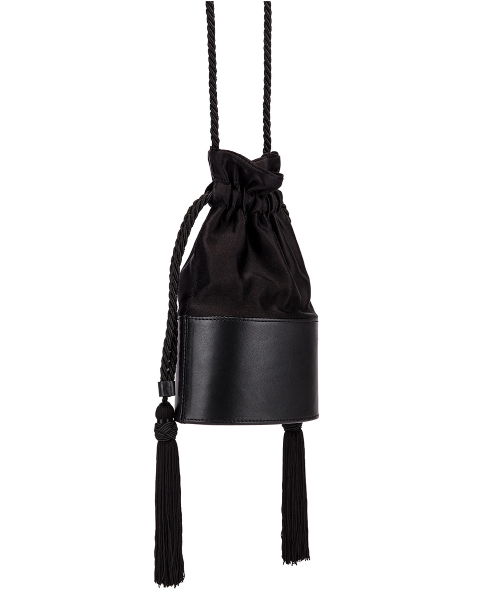 Image 3 of Hunting Season Small Lola Pouch Bag in Black
