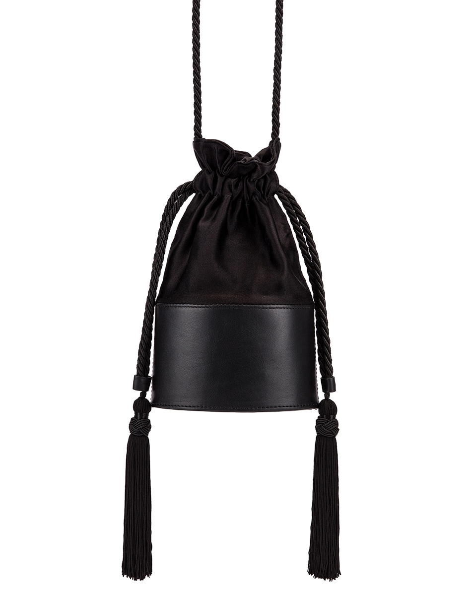 Image 4 of Hunting Season Small Lola Pouch Bag in Black