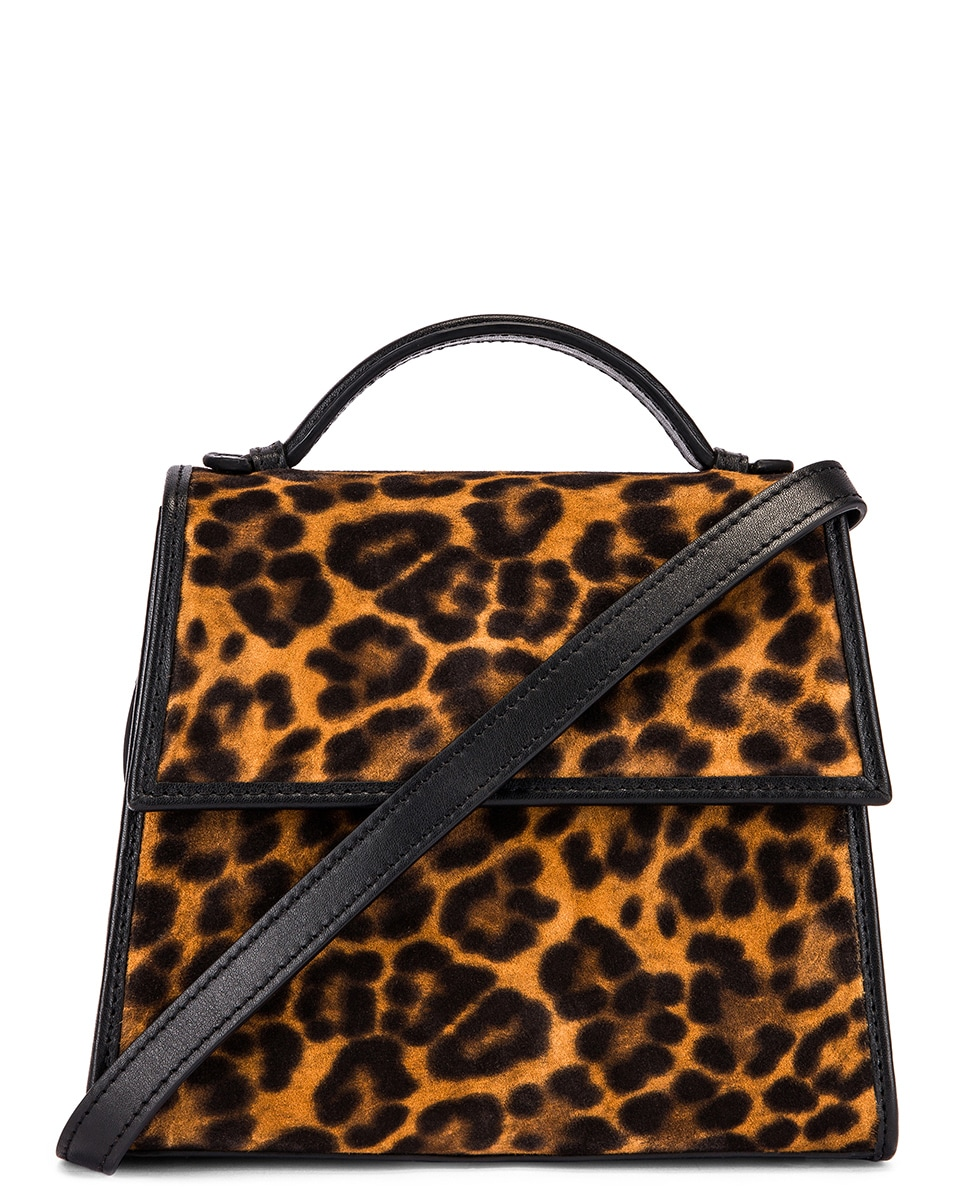 Image 1 of Hunting Season Small Top Handle Bag in Leopard
