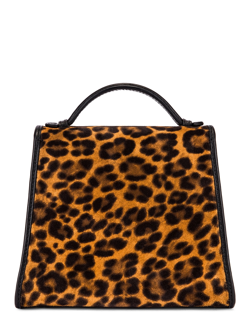 Image 3 of Hunting Season Small Top Handle Bag in Leopard