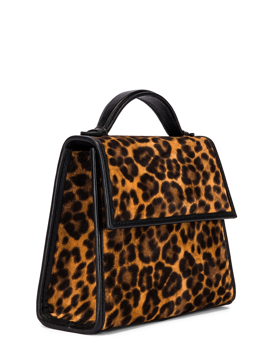 Image 4 of Hunting Season Small Top Handle Bag in Leopard