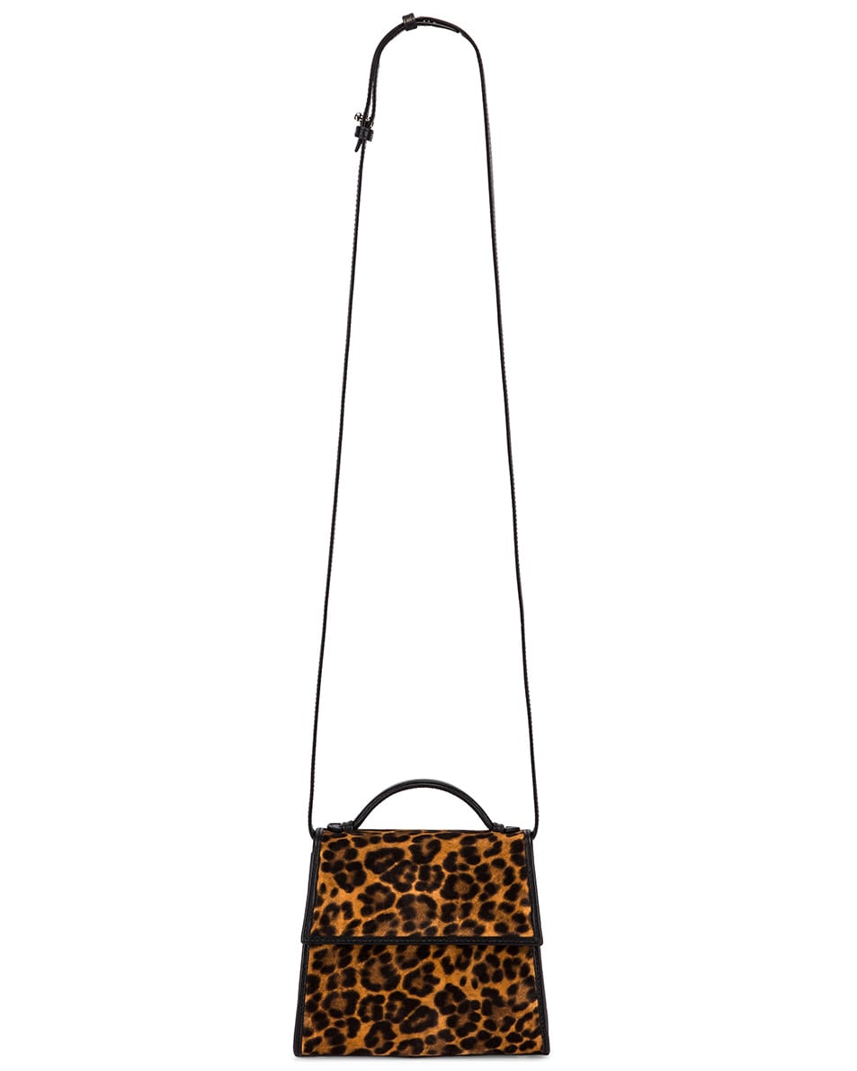 Image 6 of Hunting Season Small Top Handle Bag in Leopard