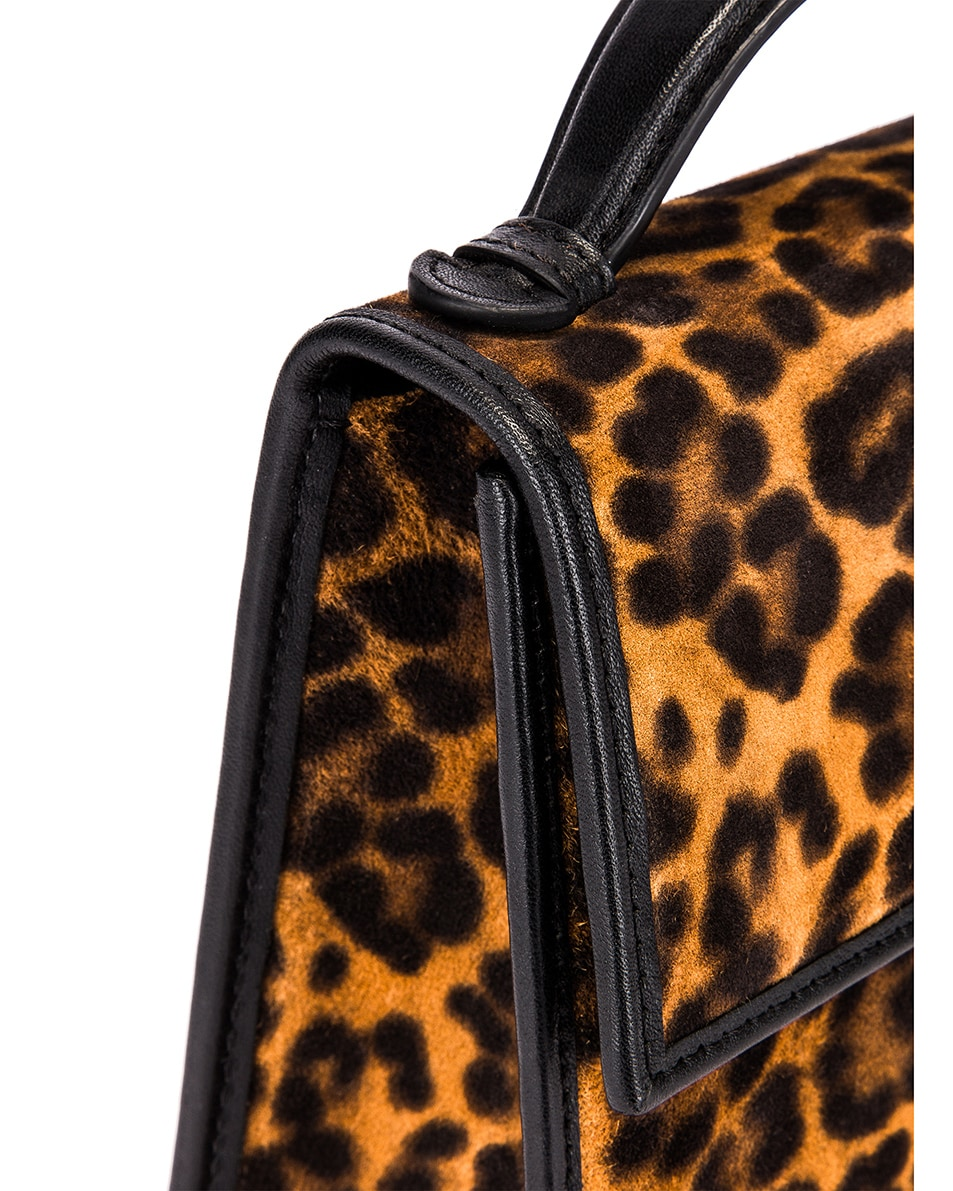 Image 8 of Hunting Season Small Top Handle Bag in Leopard