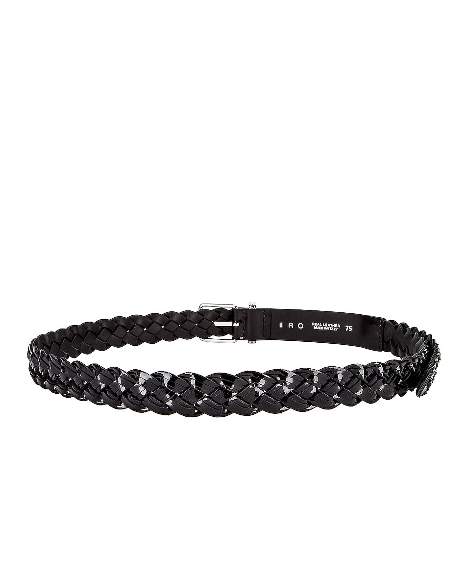 Image 3 of IRO Besano Belt in Black