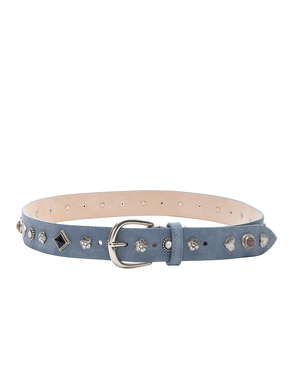 Image 2 of Isabel Marant Luke Belt in Sky