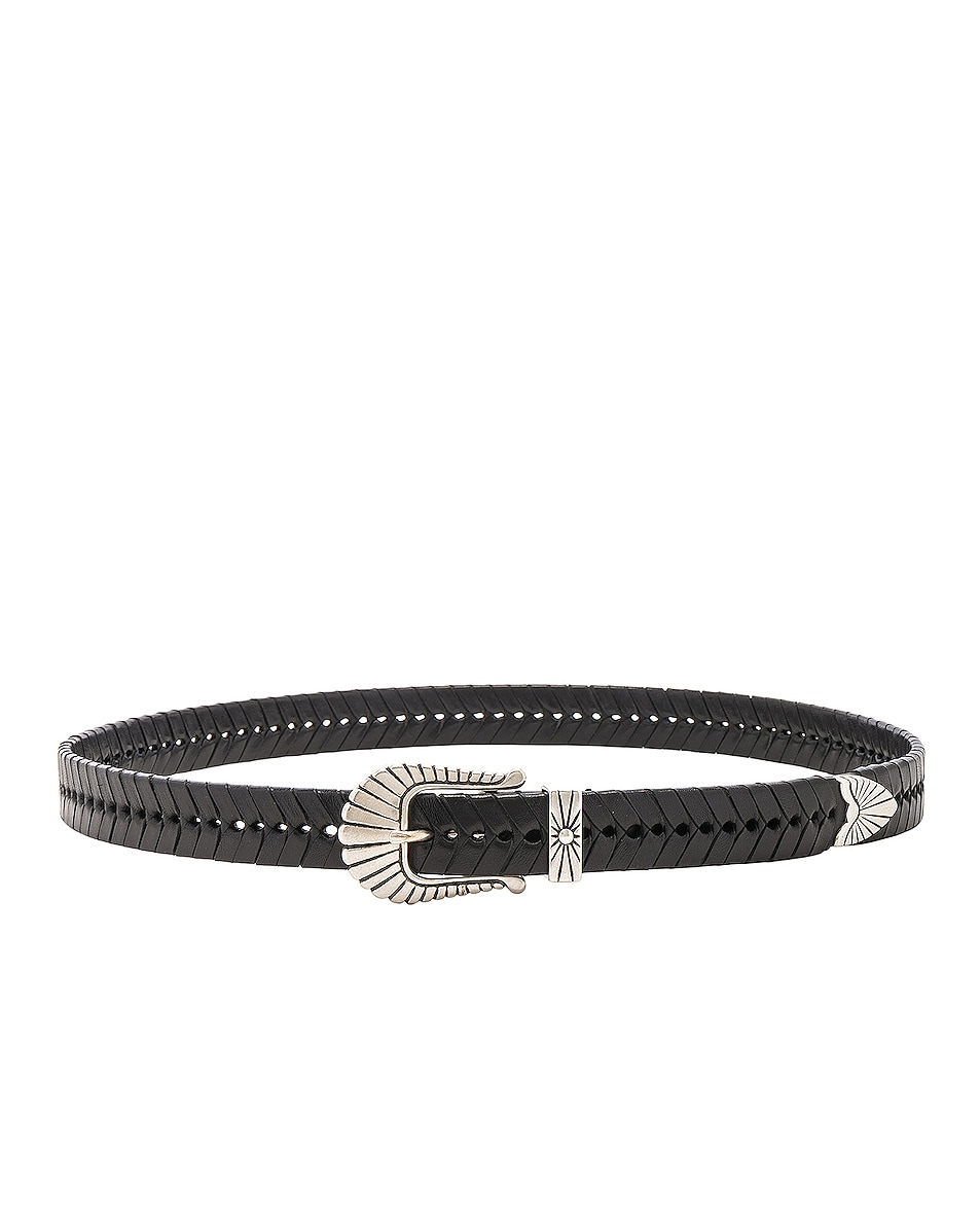 Image 2 of Isabel Marant Jigoo Belt in Black