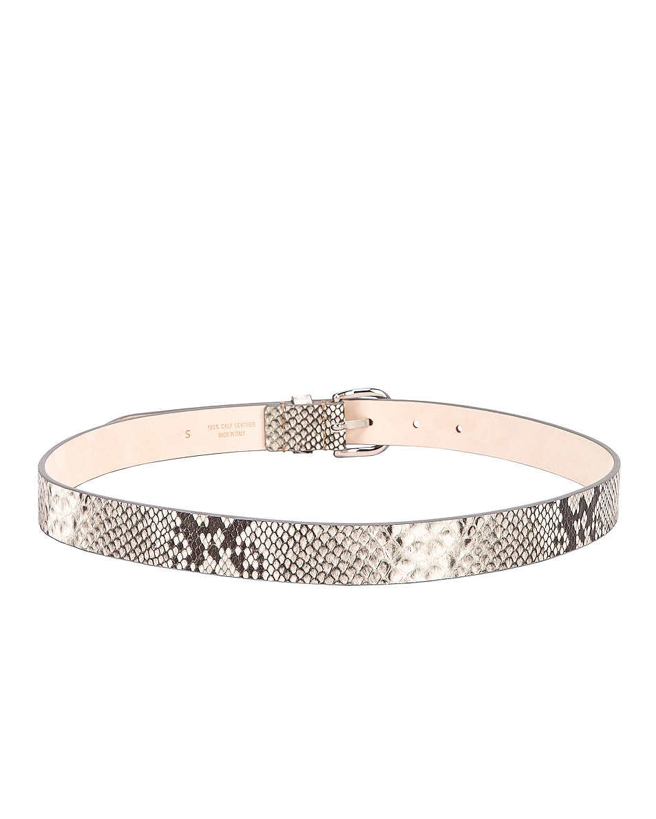 Image 3 of Isabel Marant Zap Belt in Chalk