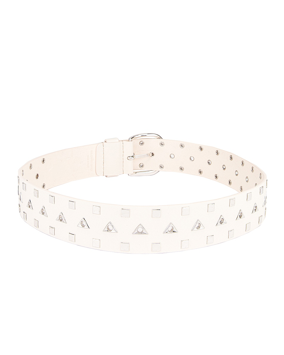 Image 3 of Isabel Marant Liyo Belt in White