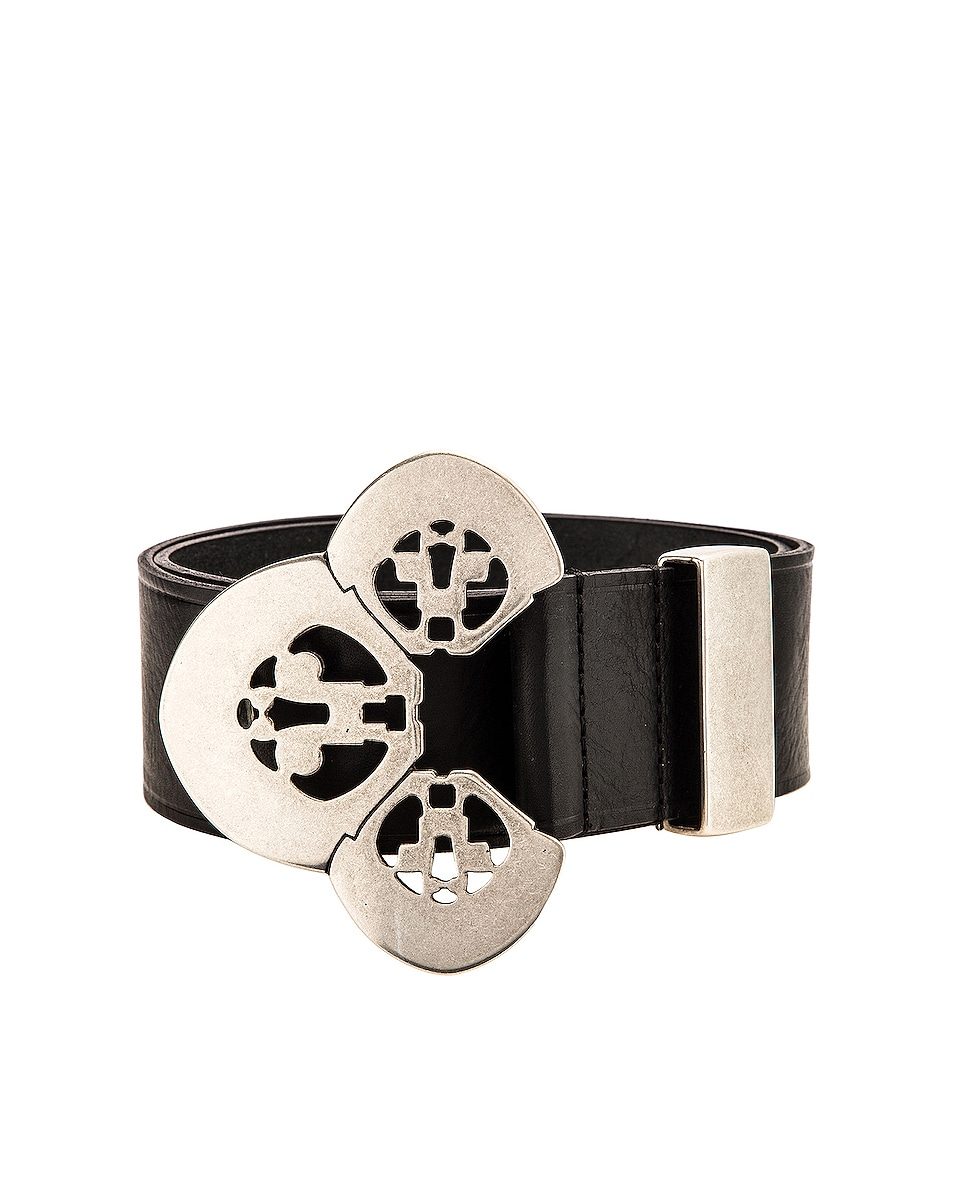 Image 3 of Isabel Marant Adaria Belt in Black
