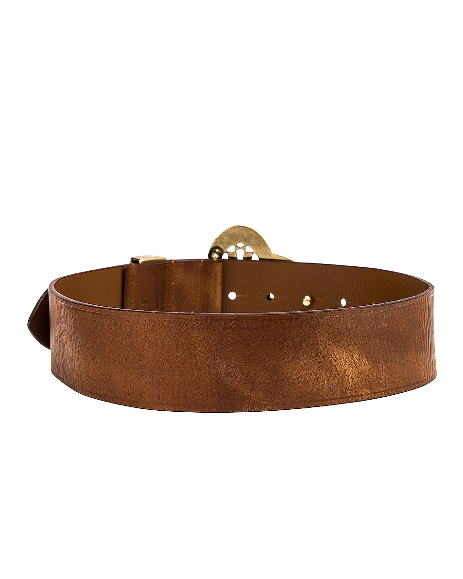 Image 2 of Isabel Marant Adaria Belt in Brown