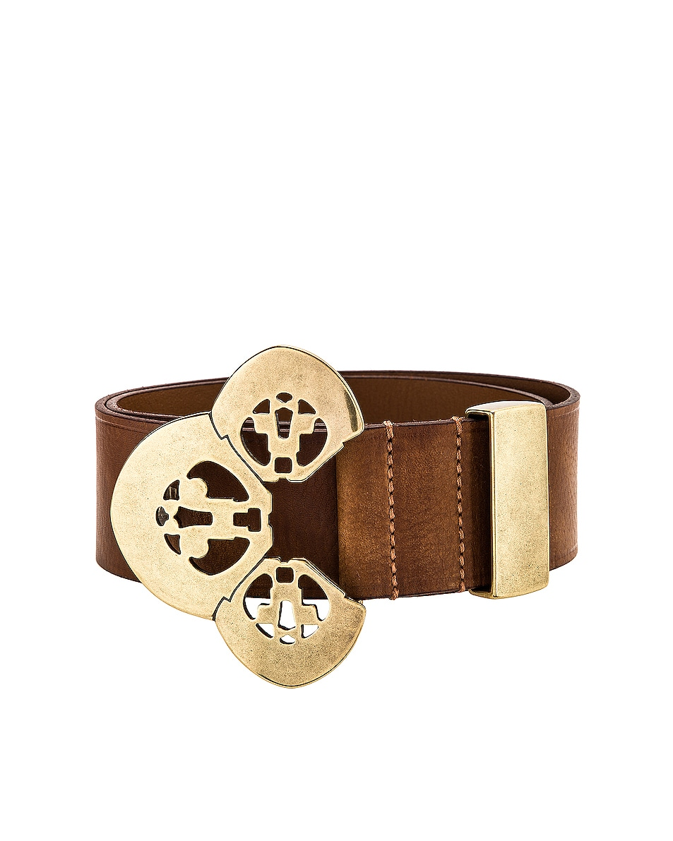 Image 3 of Isabel Marant Adaria Belt in Brown