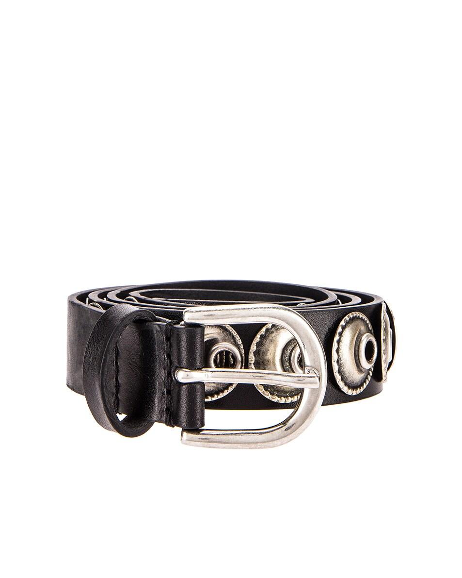 Image 1 of Isabel Marant Zappi Belt in Black