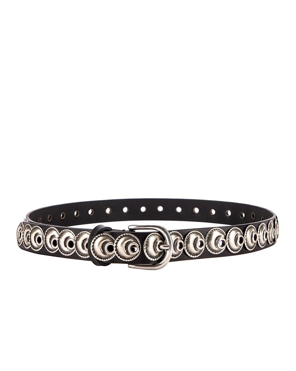 Image 2 of Isabel Marant Zappi Belt in Black
