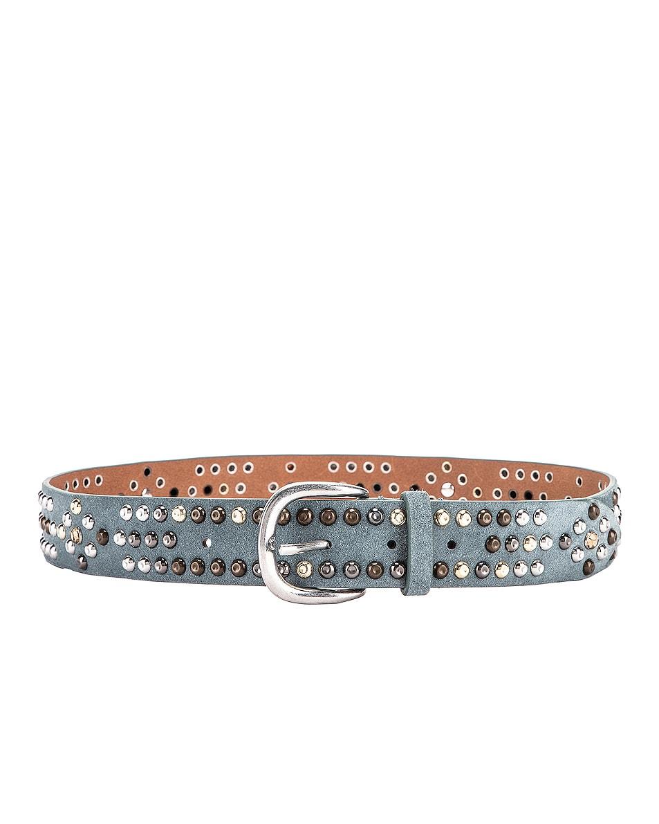 Image 1 of Isabel Marant Devis Belt in Greyish Blue