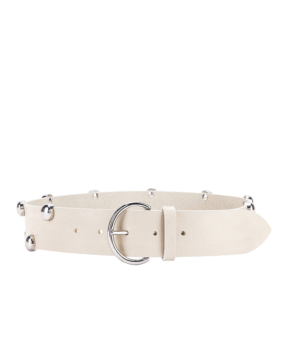 Image 1 of Isabel Marant Goby Belt in Chalk