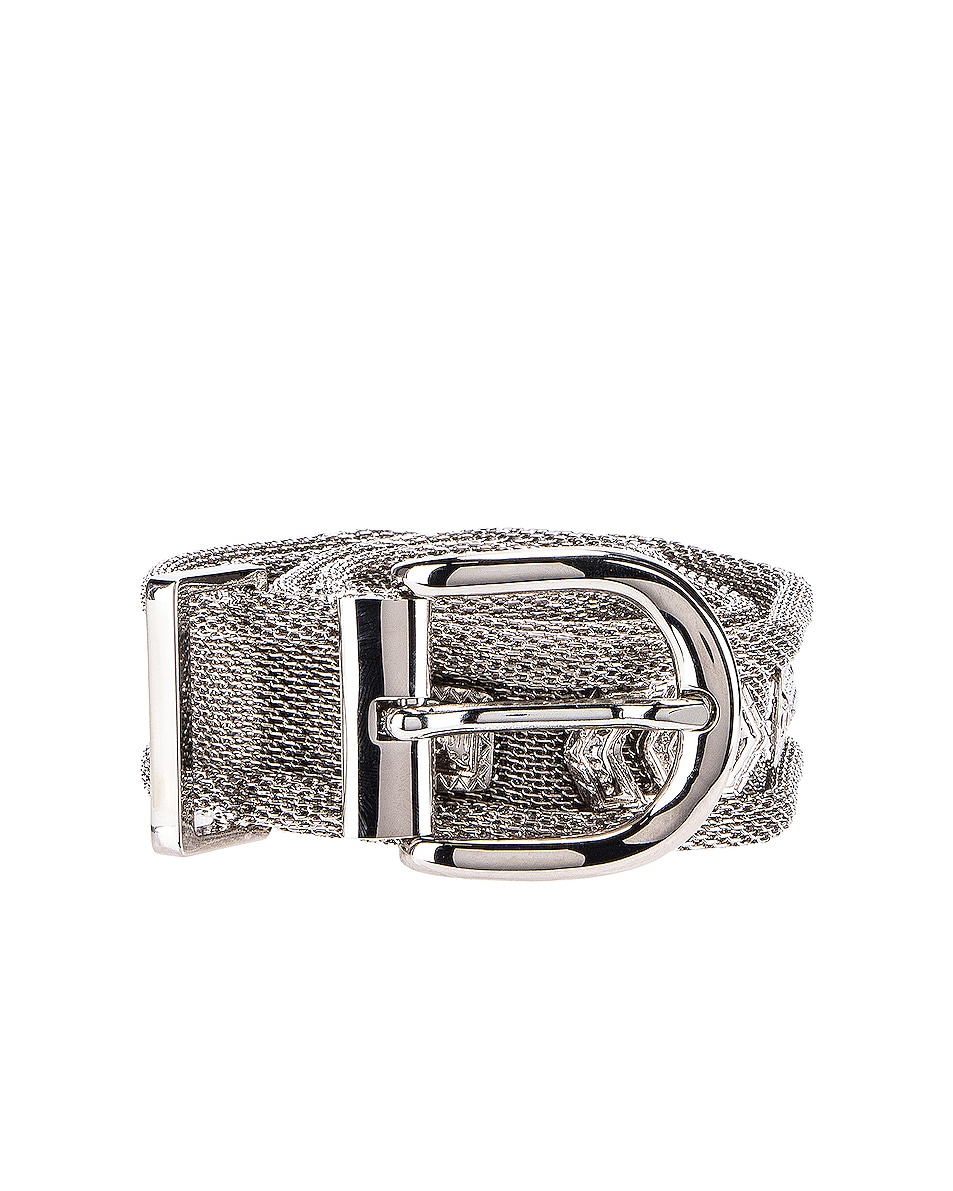 Image 2 of Isabel Marant Bisa Belt in Silver