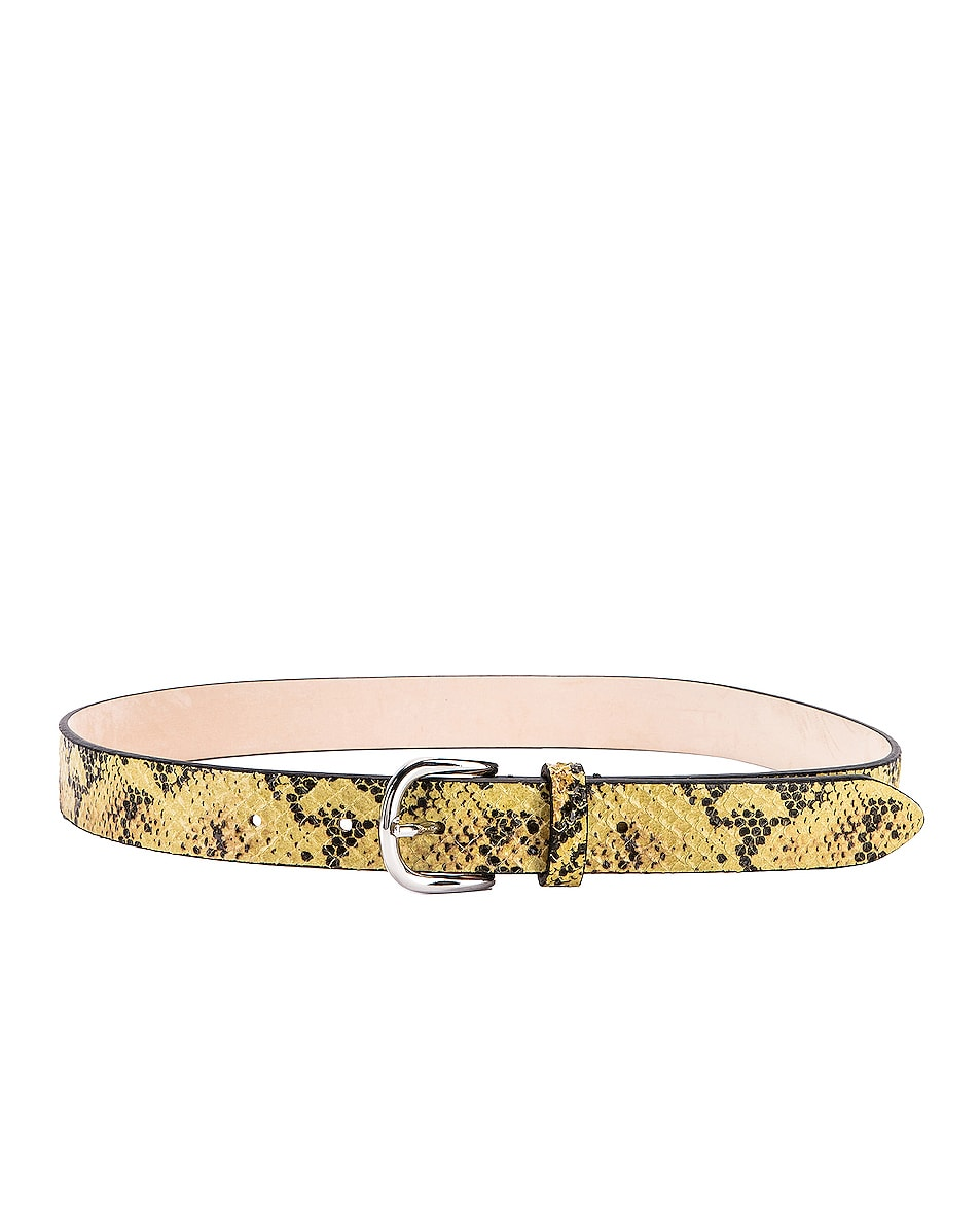 Image 3 of Isabel Marant Zap Belt in Yellow