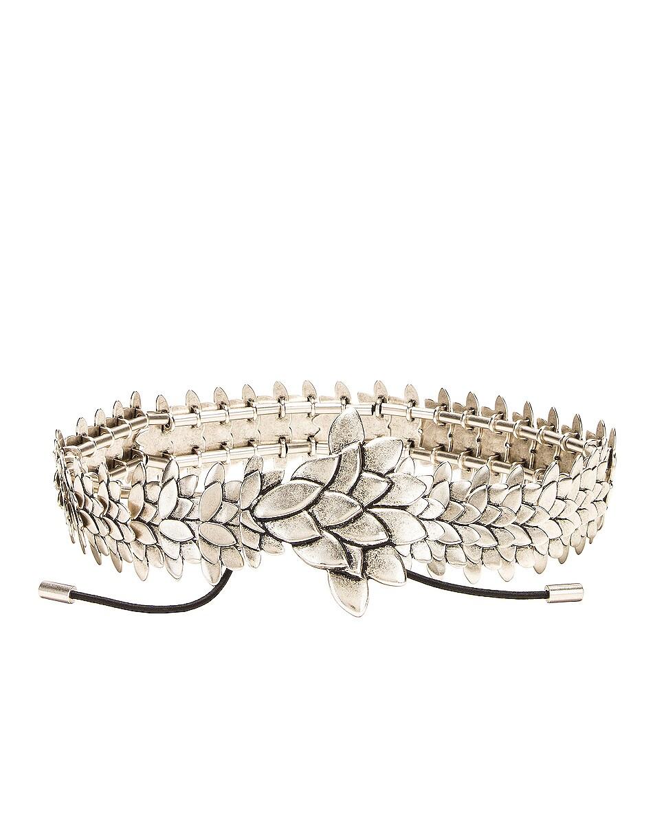 Image 1 of Isabel Marant Plume Belt in Silver