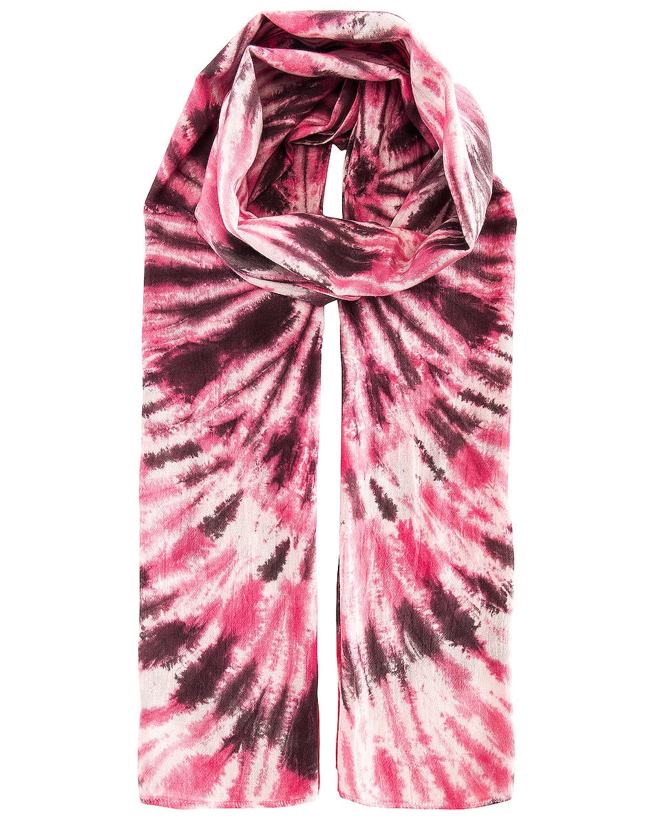 Image 1 of Isabel Marant Nassau Scarf in Pink