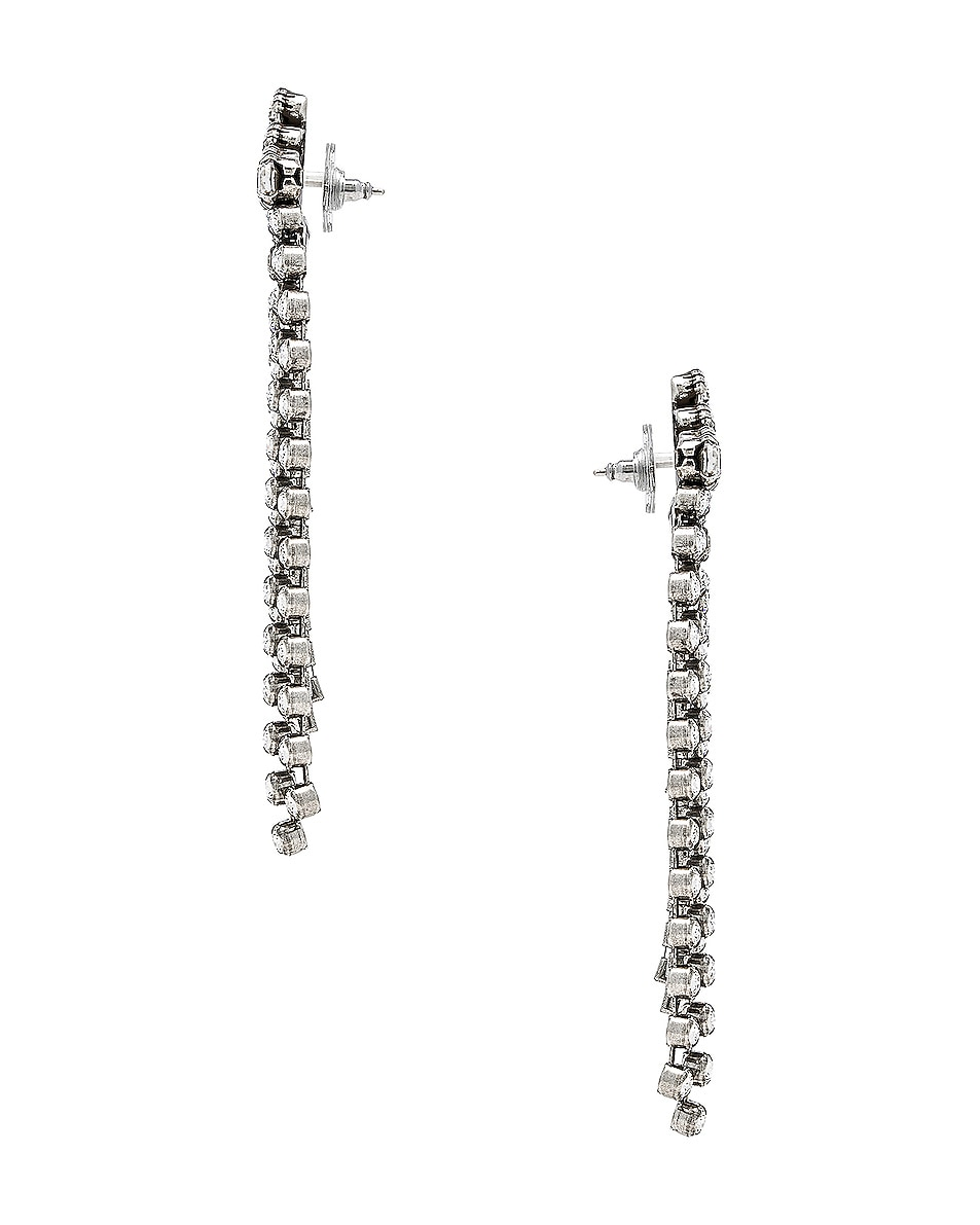 Image 2 of Isabel Marant A Wild Shore Earrings in Transparent