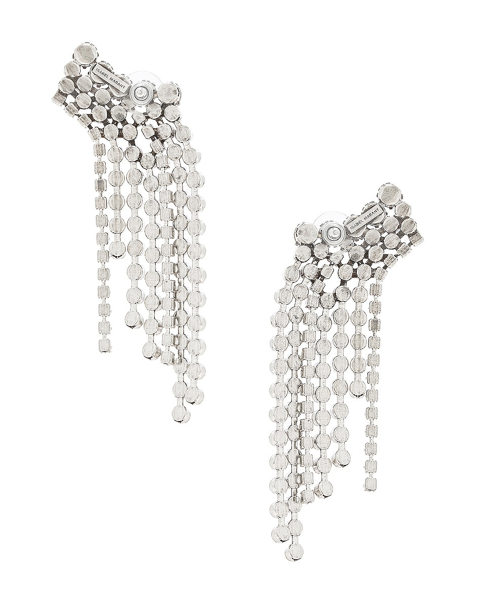 Image 3 of Isabel Marant A Wild Shore Earrings in Transparent