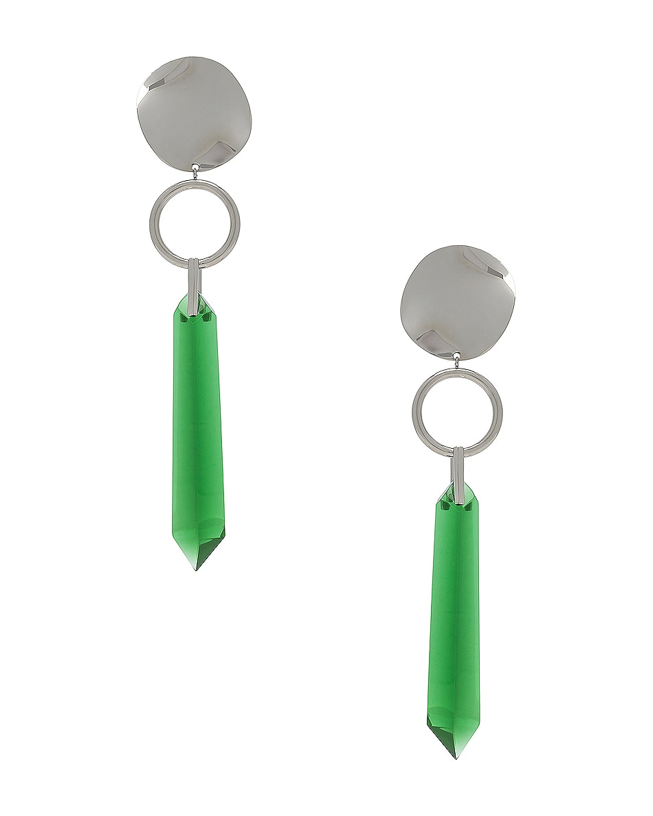 Image 1 of Isabel Marant Stalk Earrings in Green