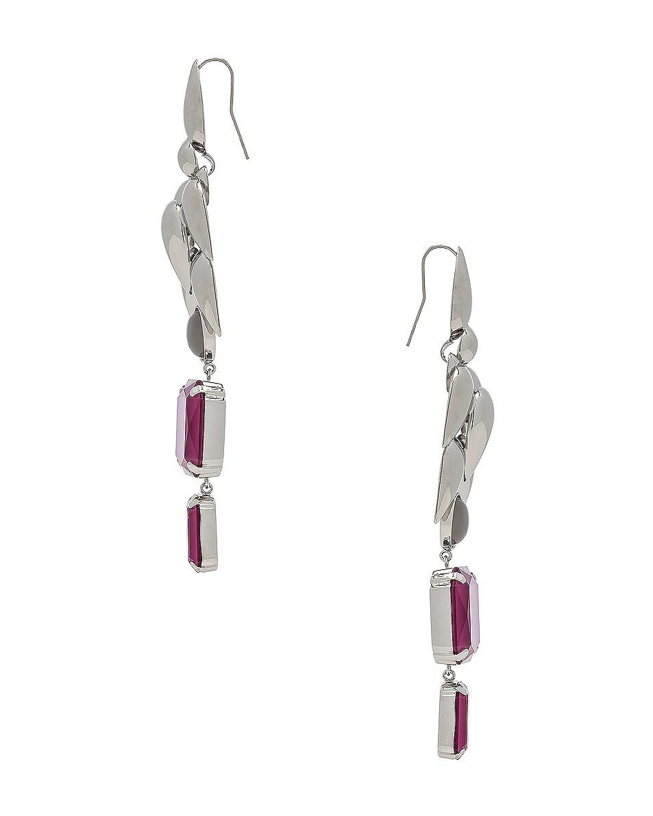Image 3 of Isabel Marant Pop Bunch Earrings in Fuchsia